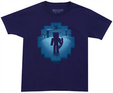Minecraft Eye of Ender Mojang Video Game Youth T-Shirt Tee