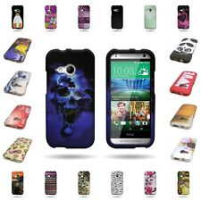 For HTC One Remix / Mini 2 Snap-on Case Hard Plastic Design Cover