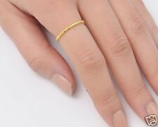 Band Rings Sterling Silver Yellow Gold Plated Best Price Jewelry Gift Selectable