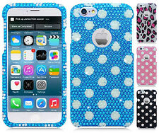 For Apple iPhone 6 4.7 Crystal Diamond BLING Hard Case Phone Cover Accessory