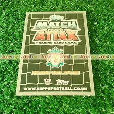 11/12 MATCH ATTAX MAN OF THE MATCH CARD 2011 2012 FROM ALL 60
