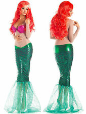 Ariel Little Mermaid Costume Women's Dress