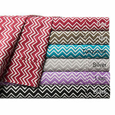 Expressions Chevron Printed Cotton Sheet Set