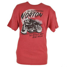 The Unapproachable Norton Motorcycle Company Tshirt Tee Red Fifth Sun