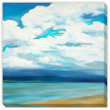 Marie Meyer's 'Clouds Over the Point' Canvas Gallery Wrap Art