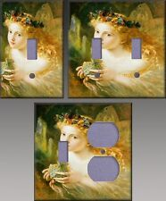 Fairy Wall Decor Light Switch Plate Cover