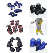 Kids Cycling Roller Skating Snowboard Knee Elbow Wrist Blade Guard Protector Pad