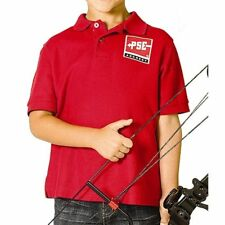 PSE Archery YOUTH Shooter Shirt  41694 (Red)