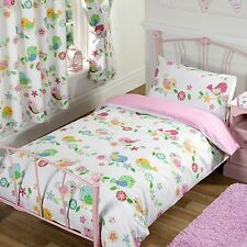 TWEET TWEET BIRDS BEDDING - SINGLE DOUBLE JUNIOR DUVET COVERS MATCHING CURTAINS