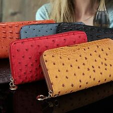 New Fashion Women Ladies Purse Long Package Card Bag Zipper Wallet Card Holder