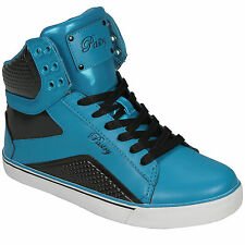 Pastry Womens Pt Sweet Crime Hi Top Trainer In Blue Trainers From Get The Label