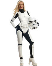 Licensed Sexy Stormtrooper Star Wars The Empire Adult Halloween Costume Womens
