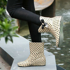 New Fashion Womens Boots Ankle Boots Rain boots Work shoes Spot Lady Sexy shoes