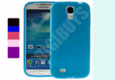 Premium Gel TPU Case for Samsung Galaxy S4 i9500 + Screen Protector UK