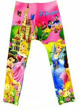 New Cute Disney Princess Girls Clothing Kids Pants #10