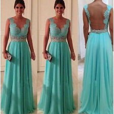 New Chiffon Full-length Formal Prom Dress Cocktail Ball Evening Party Long Dress