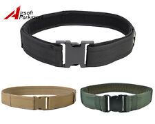 "2"" Tactical Military Police Airsoft Outdoor Load Bearing Combat Nylon Duty Belt"
