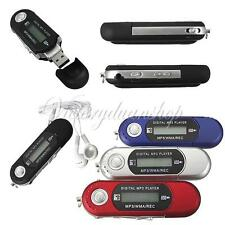 4GB MP3 WMA USB DEVICE MUSIC PLAYER WITH LCD SCREEN FM RADIO VOICE RECORDER Xmas