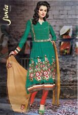 Designer Anarkali Wedding Salwar Kameez Bollywood Indian Pakistani-son-514
