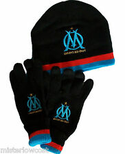 Bonnet + gants OM - Collection officielle - OLYMPIQUE de MARSEILLE - Football