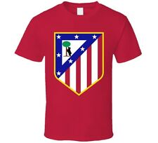CLUB ATHLETICO de MADRID España Spain Soccer Futbol Red T-SHIRT Camiseta NEW