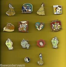 Beauty and the Beast Belle Snow White and the seven dwarfs Splendid Disney Pin