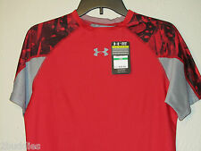 Under Armour Nfl Combine Shatter Compression Shirt 1236230 Red S XL Nwt