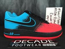 NIKE AIR FORCE ONE 1 SPIDER MAN 5Y-6.5Y GS RED BLACK 596728 607 PREMIUM SUPREME