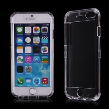 """Front&Back Hard Full Body Crystal Clear Case Cover For iPhone 5/5s/6 4.7""""/6 Plus"""