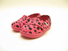 TINY TOMS CLASSIC EARTHWISE SLIP ON PINK DALMATION 10000755