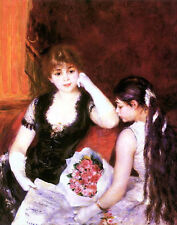 At the Concert Pierre Auguste Renoir Prints on Canvas Art Painting Reproduction