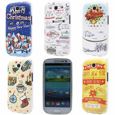 Christmas Garland House Printed Hard Back Case Cover for Samsung Galaxy S3 i9300