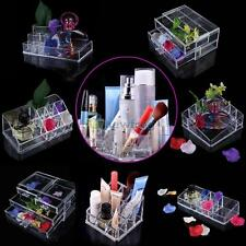 Cosmetic Organizer Acrylic Makeup Case Drawers Box Jewelry Clear Storage Cabinet