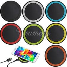 QI Wireless Charging Charger Pad for iPhone/Samsung/Sony/LG/Android/WP/MOTO 360