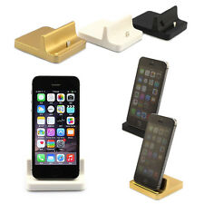 New Dock Desktop Stand Station Charger Cradle For Apple iPad air mini iPhone 5 6