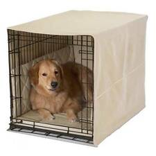 """Pet Dreams 36"""" Dog Pet Puppy Wire Crate Cage Cover Bumper Pad Bed Pillow 4 Color"""