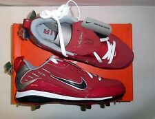 Nike Air Show Elite MVP Men's Baseball Cleats NIB Red/White Various Sizes