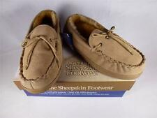 Old Friend Loafer Moccasin Mens Slippers Chestnut/Stony Various Sizes NEW
