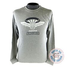 Innova AIRFORCE Long Sleeve Disc Golf T-Shirt CHOOSE YOUR SIZE - GRAY