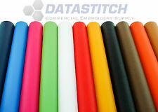 "Easy Patch Embroidery Material 18""x 30"" Roll 12 Hot Colors +2 yd Heat Seal Rolls"