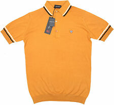JOHN SMEDLEY Cambourne Polo Shirt California Poppy ~ M