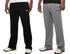 NEW PUMA MEN'S ESSENTIAL TERRY SWEATPANTS! SOFT FLEECE LINING! VARIETY COLR/SIZE