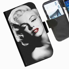 Marilyn Monroe Leather wallet phone case for Samsung Galaxy Active Alpha Note