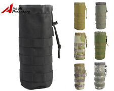 Tactical Military Outdoor 1000D Molle Camo Water Bottle Pouch Bag Holder Carrier