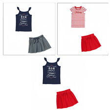 Gymboree Parisian Afternoon 2 pc Sets-Top,Shorts,Skort,Skirt- 5 6 7 *NWT*