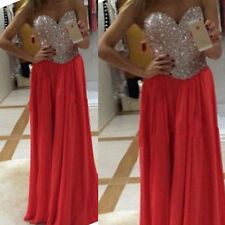 Womens Sexy Dress Formal Evening Wedding Long Prom Gown Bodycon Cocktail Dresses