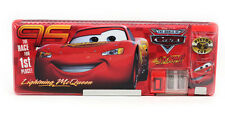 Free shipping Disney red cars stationery cartoon plastic children pencil case