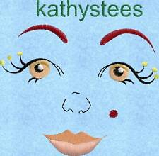 Original Faces - Machine Embroidery Designs On CD