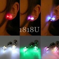 1 pcs*Fashion Unisex women Light Up LED Ear Stud Earring Accessories Party Gift