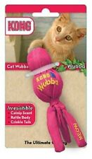 Kong Cat Toy WUBBA  Catnip Infused Crackle Sounds COLORS VARY
